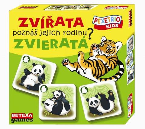 neuveden: Pexetrio Kids - Zvířata - Poznáš jejich rodinu?