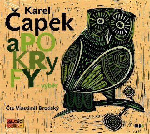 Čapek Karel: Apokryfy - CDmp3 (Čte Vlastimil Brodský)