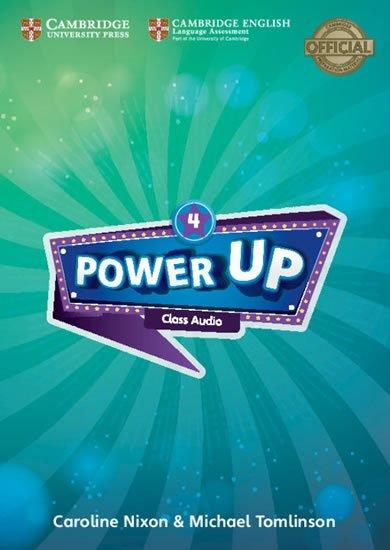 Nixon Caroline: Power Up Level 4 Class Audio CDs (4)