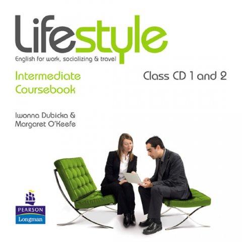 Dubicka Iwona: Lifestyle Intermediate Class CDs