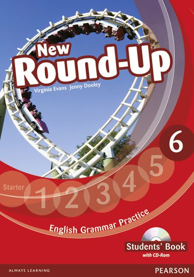Dooley Jenny: Round Up 6 Students´ Book w/ CD-ROM Pack