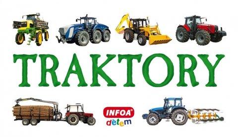 neuveden: Skládanka - Traktory