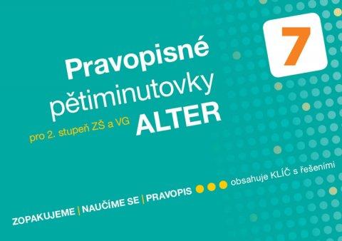 Bradáčová Lenka: Pravopisné pětiminutovky 7 pro 2. stupeň ZŠ a VG