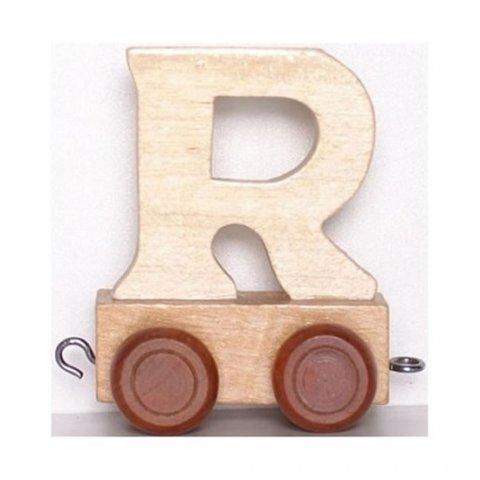 neuveden: Vagónek R - hnědá kolečka