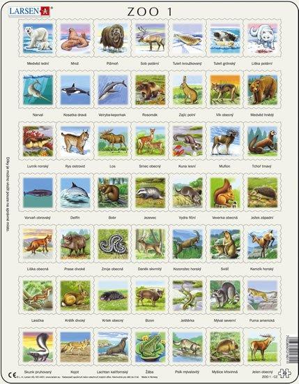 neuveden: Puzzle MAXI - ZOO 1./49 dílků