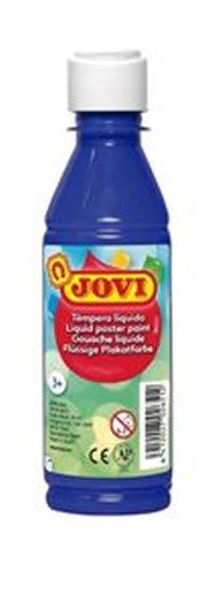 neuveden: JOVI temperová barva 250ml v lahvi tmavě modrá