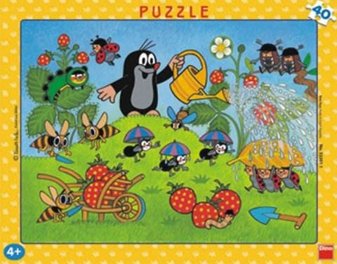 neuveden: Krtek v jahodách - Puzzle 40