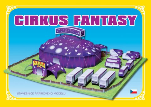 neuveden: Cirkus Fantasy - Stavebnice papírového modelu