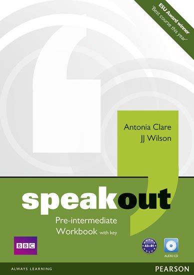 Clare Antonia: Speakout Pre Intermediate Workbook w/ Audio CD Pack (w/ key)