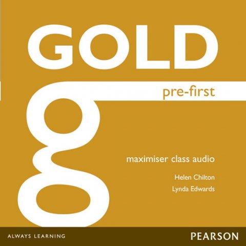 Chilton Helen, Edwards Lynda: Gold Pre-First 2014 Maximiser Class Audio CDs