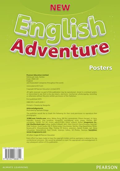 Worrall Anne: New English Adventure 1 Posters