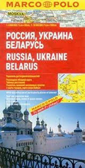 neuveden: Rusko, Ukrajina, Bělorusko/mapa 1:2M MD