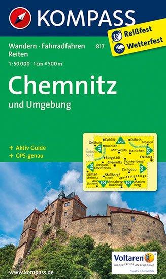 neuveden: Chemnitz und Umgebung 817 / 1:50T NKOM