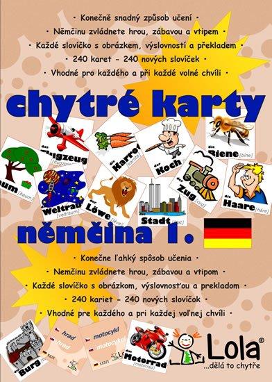 neuveden: Chytré karty - Němčina slovíčka 1