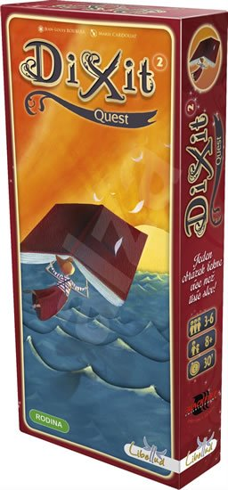 neuveden: Dixit 2/Quest - Rodinná hra