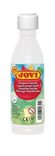 neuveden: JOVI temperová barva 250ml v lahvi bílá