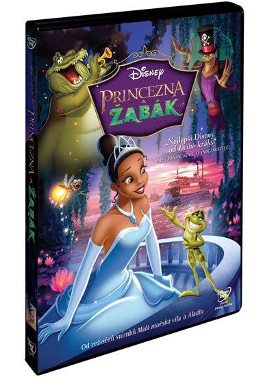 neuveden: Princezna a žabák DVD