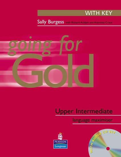 Burgess Sally: Going for Gold Upper-Intermediate Language Maximiser w/ CD Pack (w/ key)
