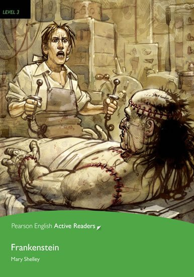 Shelley Mary: PEAR | Level 3: Frankenstein Bk/Multi-ROM with MP3 Pack