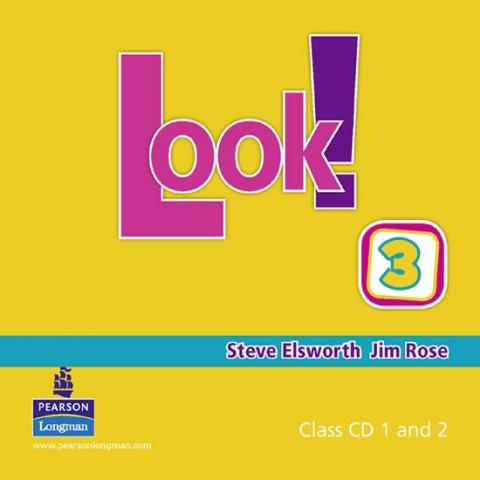 Elsworth Steve: Look! 3 Class CD