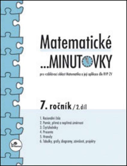 Hricz Miroslav: Matematické minutovky pro 7. ročník / 2. díl