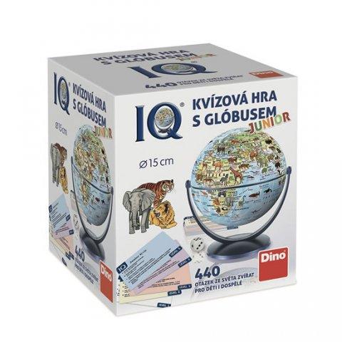 neuveden: IQ Junior - Kvízová hra s glóbusem: 440 otázek ze světa zvířat pro děti i d