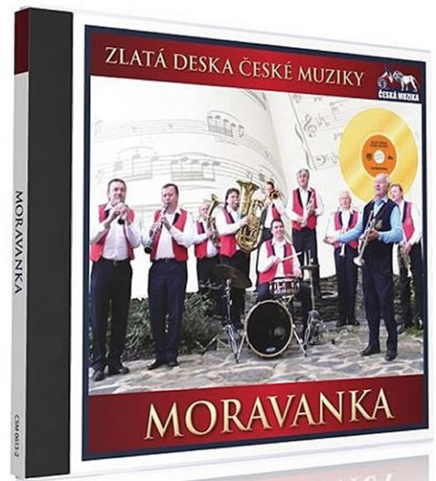 neuveden: Zlatá deska - Moravanka - 1 CD