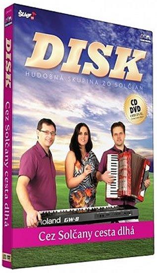 neuveden: Disk - Cez Solčany cesta dlha - CD+DVD