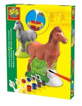 neuveden: SES Sádrový komplet / kůň
