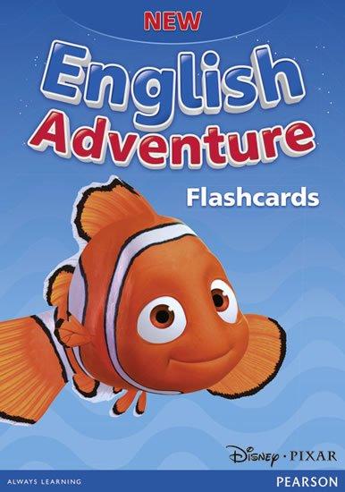 neuveden: New English Adventure Starter A and B Flashcards