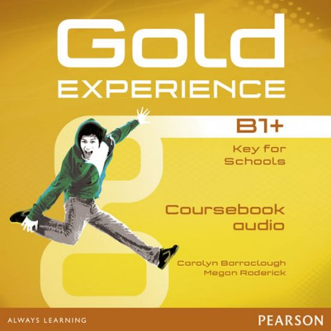 Baraclough Carolyn, Roderick Megan: Gold Experience B1+ Class Audio CDs