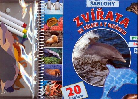 neuveden: Zvířata na pólech a v oceánech - Šablony