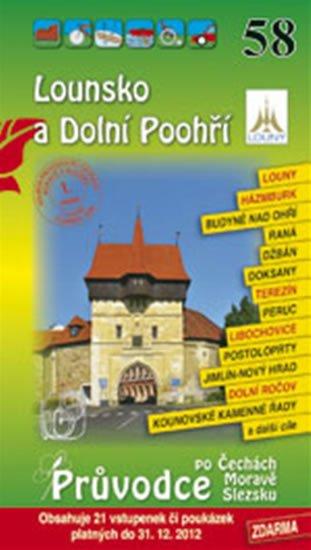 neuveden: Lounsko a Dolní Poohří 58. - Průvodce po Č,M,S + volné vstupenky a poukázky
