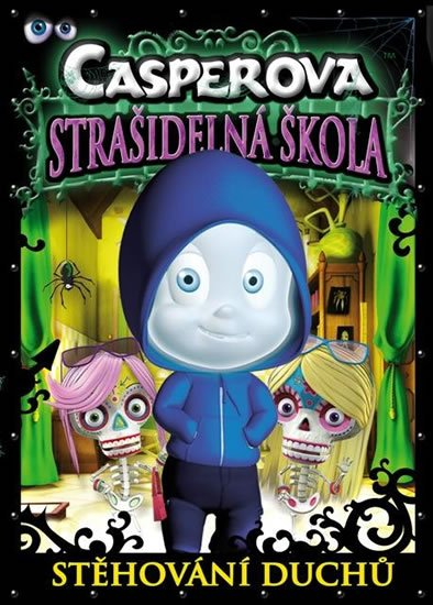 neuveden: Casperova strašidelná škola - Stěhování duchů - DVD