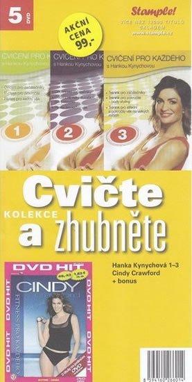 neuveden: Cvičte a zhubněte - 5 DVD