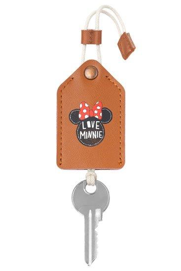 neuveden: Kožená klíčenka - Minnie