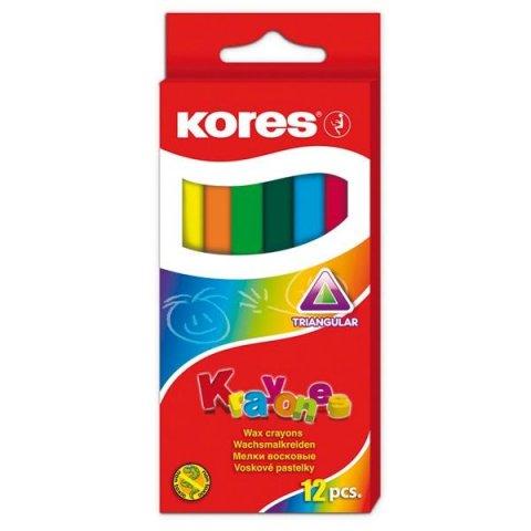 neuveden: Krayones - voskové pastelky trojhranné,