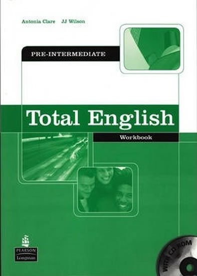 Clare Antonia, Wilson J.J.: Total English Pre-Intermediate Workbook w/ CD-ROM Pack (no key)