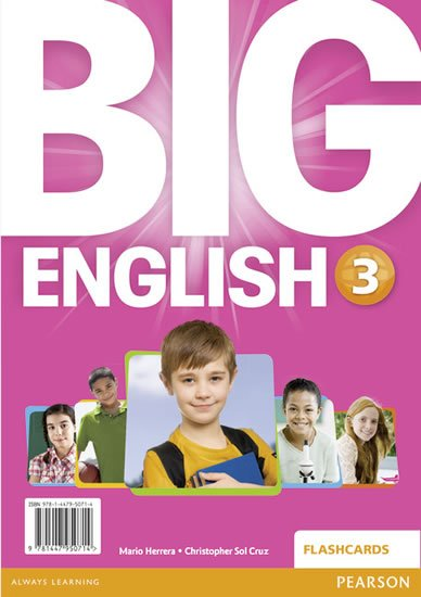 Herrera Mario: Big English 3 Flashcards