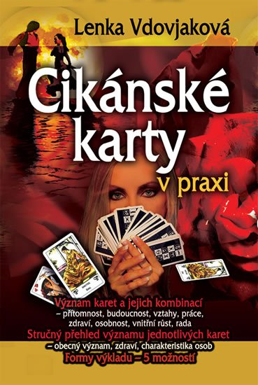 Vdovjaková Lenka: Cikánské karty v praxi (kniha + karty)