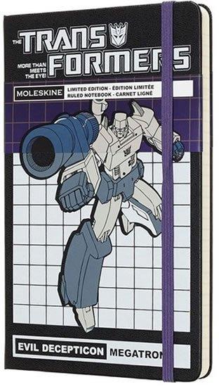 neuveden: Moleskine: Transformers zápisník linkovaný Megatron L