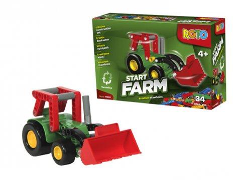 neuveden: ROTO - Start Farm/kreativní stavebnice (34 dílků)