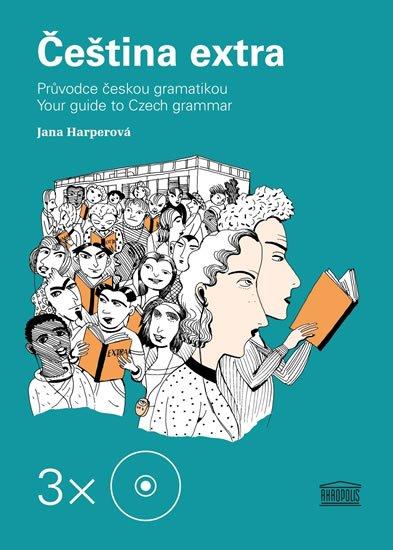 Harperová Jana: Čeština extra - Průvodce českou gramatikou A1 – 3 CD