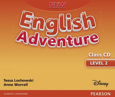 Lochowski Tessa, Worral Anne: New English Adventure 2 Class CD