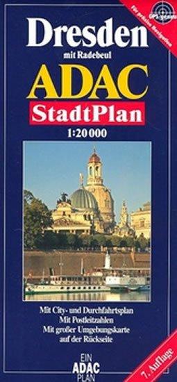 kolektiv: Drážďany/plán 1:20T ADAC