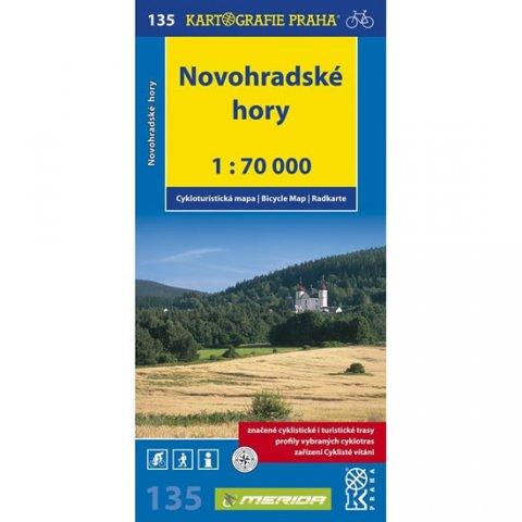 neuveden: 1: 70T(135)-Novohradské hory (cyklomapa)