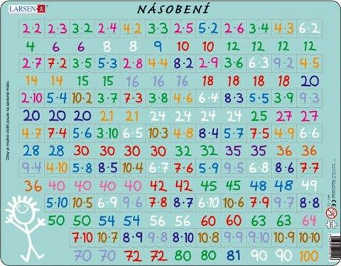 neuveden: Puzzle MAXI - Násobení/81 dílků