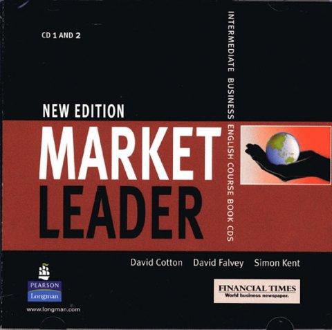 Cotton David: Market Leader Intermediate Class CD 1-2