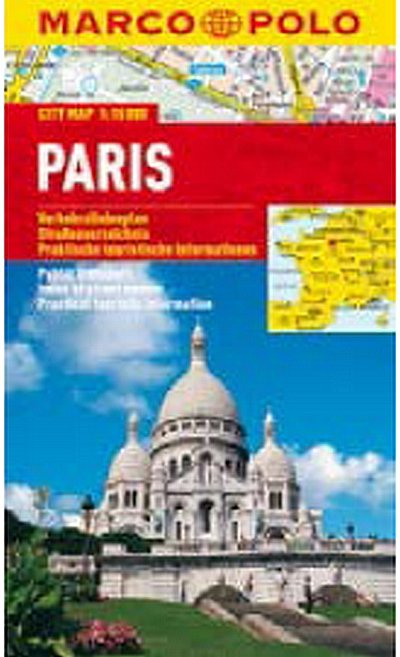 neuveden: Paris - City Map 1:15000