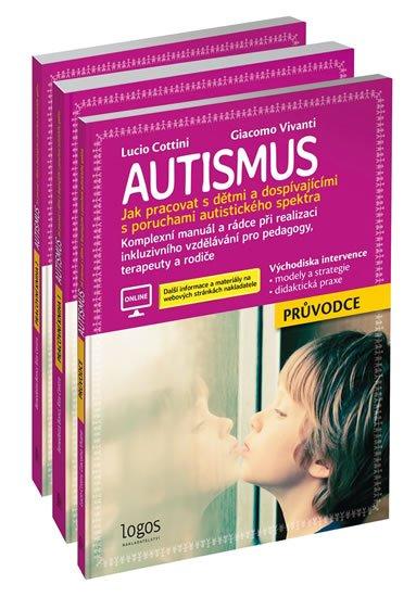 Cottini Lucio, Vivanti Giacomo,: Autismus - Průvodce + Pracovní kniha 1 + Pracovní kniha 2
